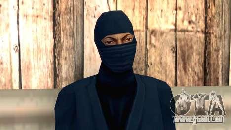 Ninja pour GTA San Andreas troisième écran