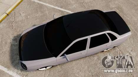 VAZ-2170 Lada Priora Turbo für GTA 4 rechte Ansicht