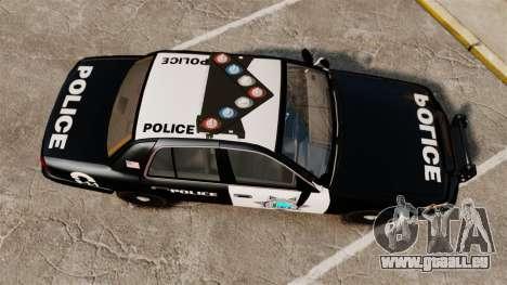 Ford Crown Victoria Liberty State Police pour GTA 4 est un droit