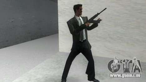 Glattläufige Gewehr Saiga 12 k für GTA Vice City