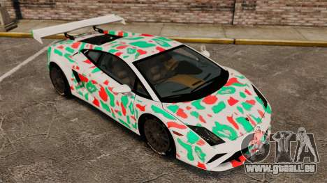 Lamborghini Gallardo 2013 v2.0 pour GTA 4 est une vue de dessous