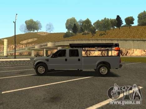 Ford F-350 für GTA San Andreas
