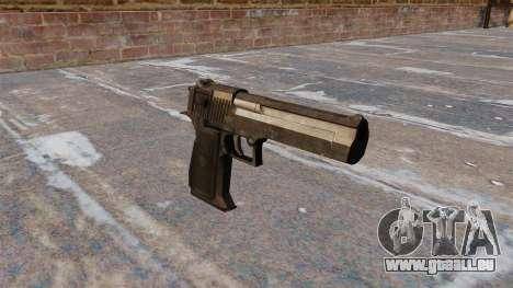 Desert Eagle Pistole MW3 für GTA 4