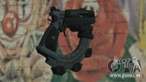 Le pistolet de Timeshift pour GTA San Andreas deuxième écran