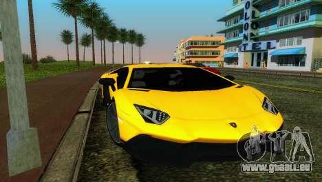 Lamborghini Aventador LP720-4 50th Anniversario für GTA Vice City
