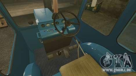 Traktor MTZ-80 für GTA 4 Innenansicht