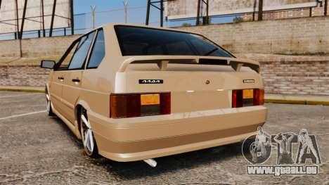 Vaz-2114 pour GTA 4 Vue arrière de la gauche