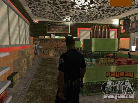 New lapd1 pour GTA San Andreas quatrième écran