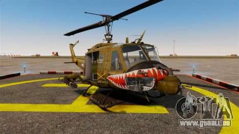 Bell UH-1 Iroquois v2.0 Gunship [EPM] für GTA 4
