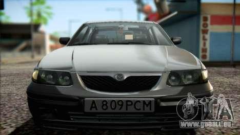 Mazda 626 pour GTA San Andreas vue arrière