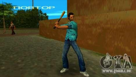 Baseballschläger aus GTA IV für GTA Vice City dritte Screenshot