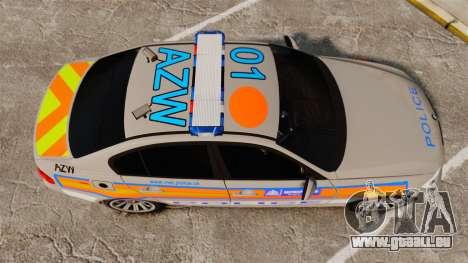 BMW 330 Metropolitan Police [ELS] für GTA 4 rechte Ansicht