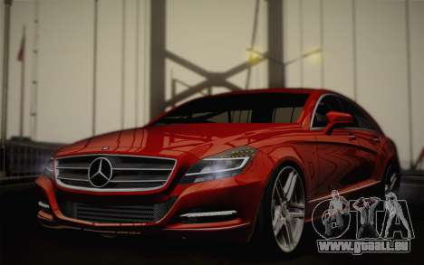 Mercedes-Benz CLS 63 AMG 2012 Fixed pour GTA San Andreas