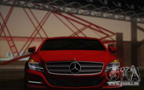 Mercedes-Benz CLS 63 AMG 2012 Fixed für GTA San Andreas obere Ansicht