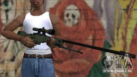 AWP from CS:GO für GTA San Andreas dritten Screenshot