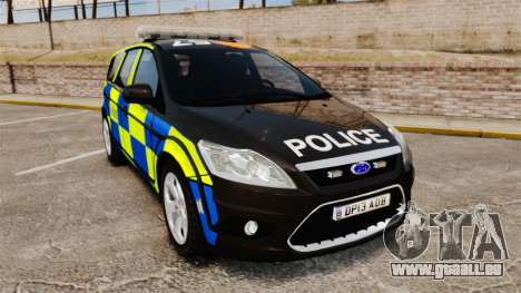Ford Focus Estate 2009 Police England [ELS] pour GTA 4