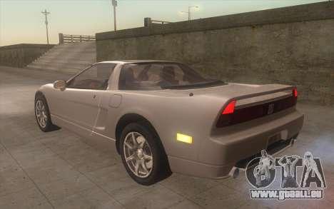 Acura NSX für GTA San Andreas linke Ansicht