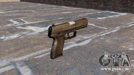 Pistolet semi-automatique Taurus 24-7 pour GTA 4 secondes d'écran