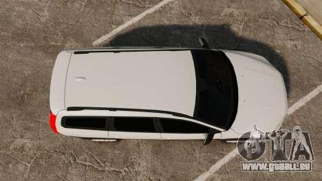 Volvo XC70 Unmarked [ELS] für GTA 4 rechte Ansicht