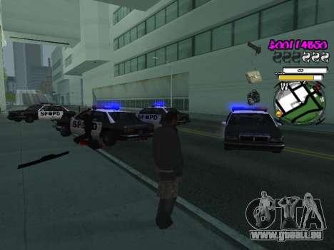 HUD pour GTA San Andreas septième écran