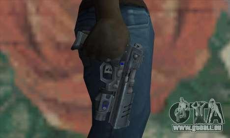 Strader MK VII FEAR3 pour GTA San Andreas troisième écran