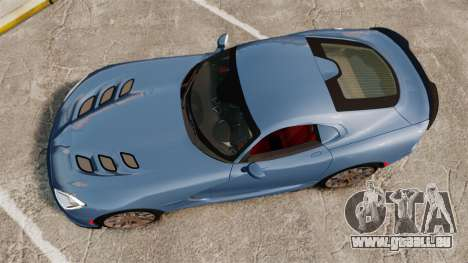 Dodge Viper SRT TA 2014 Rebuild für GTA 4 rechte Ansicht