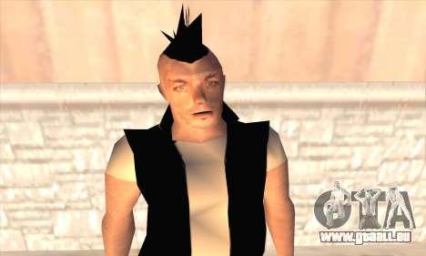 Till Lindemann pour GTA San Andreas troisième écran