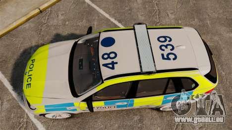 BMW X5 Police [ELS] für GTA 4 rechte Ansicht