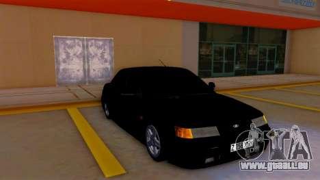 VAZ 2110 Kazakhstan pour GTA San Andreas laissé vue