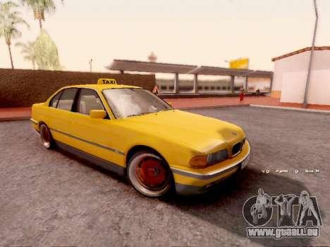 BMW 730i für GTA San Andreas