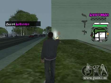 HUD für GTA San Andreas dritten Screenshot
