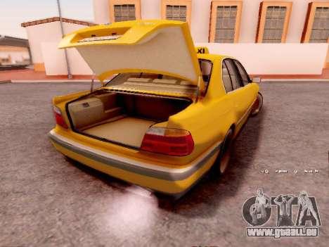 BMW 730i pour GTA San Andreas vue de droite