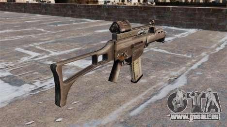 Fusil d'assaut HK G36C pour GTA 4 secondes d'écran