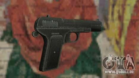 Pistolet TT pour GTA San Andreas troisième écran