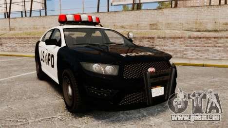 GTA V Vapid Police Interceptor LSPD pour GTA 4