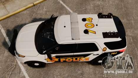 Ford Explorer 2013 Longwood Police [ELS] pour GTA 4 est un droit