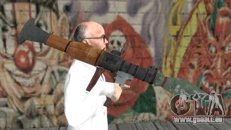 Le RPG-7 pour GTA San Andreas troisième écran