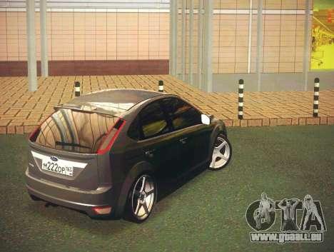 Ford Focus 2009 LT pour GTA San Andreas sur la vue arrière gauche