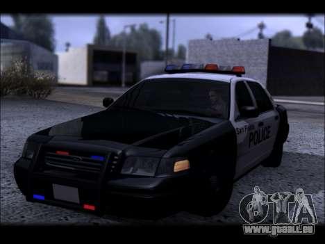 Ford Crown Victoria 2005 Police für GTA San Andreas Seitenansicht