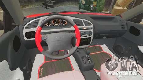 FSO Lanos Plus 2007 Limited Version pour GTA 4 est une vue de l'intérieur