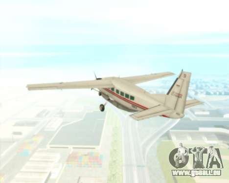 Cessna 208B Grand Caravan pour GTA San Andreas vue de côté