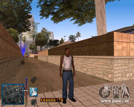 C-HUD by Mike Renaissance für GTA San Andreas her Screenshot