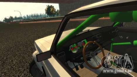 VAZ 2105 für GTA 4 obere Ansicht