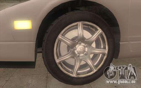 Acura NSX pour GTA San Andreas sur la vue arrière gauche