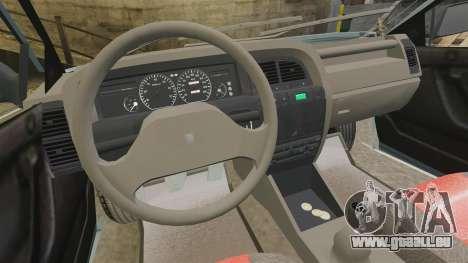 Citroen Xantia 1999 für GTA 4 Rückansicht