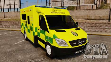 Mercedes-Benz Sprinter [ELS] London Ambulance pour GTA 4
