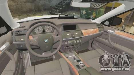 BMW X5 Police [ELS] pour GTA 4 est un côté