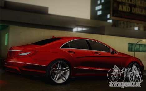 Mercedes-Benz CLS 63 AMG 2012 Fixed für GTA San Andreas Rückansicht