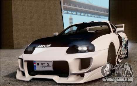 Toyota Supra Mk IV für GTA San Andreas