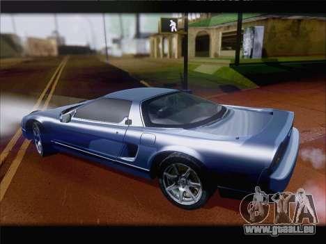 Acura NSX für GTA San Andreas Innenansicht